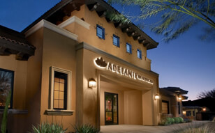 Image of front entrance to ATSU Adelante Community Healthcare OB/GYN Clinic in Avondale, AZ