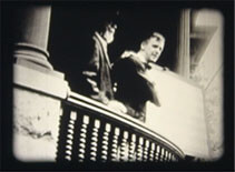Image of Andrew Taylor Still on a balcony