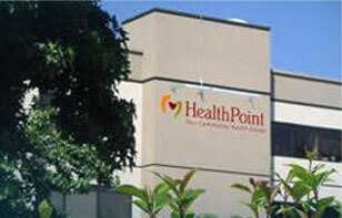 Image of main entrance to ATSU's Seattle-based Healthpoint Community Health Center
