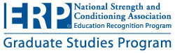 Logo of National Strength and Conditioning Association Education Recognition Program (ERP)