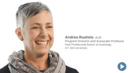 Post-Professional Doctor of Audiology Degree, ATSU | Program Director Andrea Ruotolo, AuD