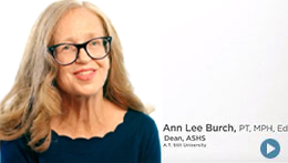 Arizona School of Health Sciences, ATSU | Ann Lee Burch, Dean