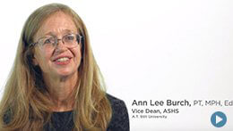 Arizona School of Health Sciences, ATSU | Ann Lee Burch, Vice Dean
