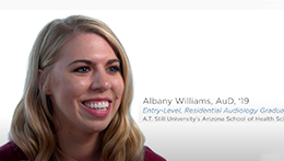 AuD Student Testimonial | Albany Williams