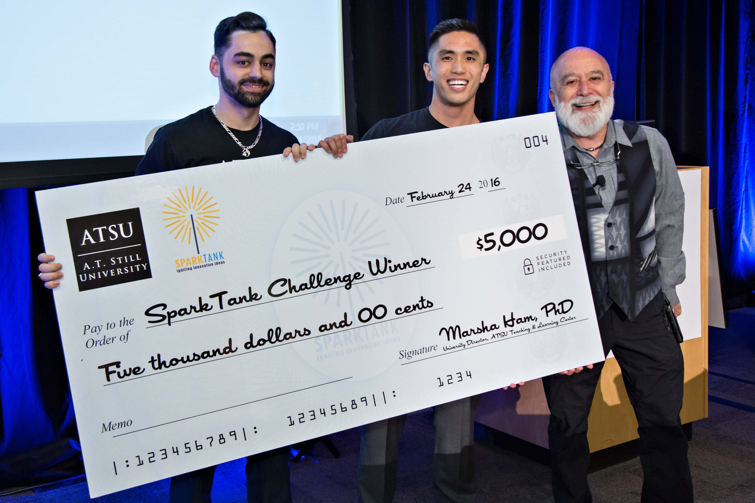 SparkTank inaugural competition