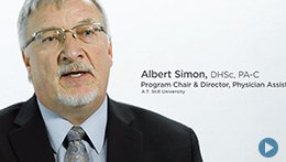Physician Assistant Studies, ATSU | Albert Simon, Program Chair