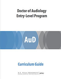 Audiology curriculum guide and course sequence pdf