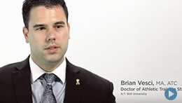 Doctor of Athletic Training, ATSU | Brian Vesci, Student