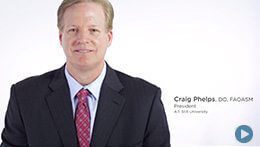 Athletic Training Program, ATSU | Dr. Craig Phelps, President