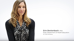 Doctor of Education in Health Professions | Erin Breitenbach, program chair