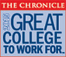 The Chronicle Great College to Work For Logo