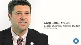 Doctor of Athletic Training, ATSU | Greg Janik, Student