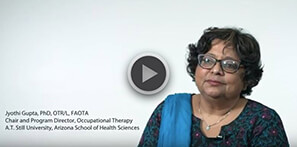 Department of Occupational Therapy, ATSU | Dr. Jyothi Gupta