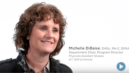 ATSU | Michelle DiBaise, Department Chair, Program Director