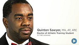 Doctor of Athletic Training, ATSU | Quinton Sawyer, Student