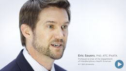 Doctor of Athletic Training Degree, ATSU | Dr. Eric Sauers, Professor
