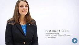 Doctor of Health Education, ATSU | Dr. Meg Shepperd