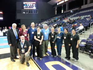 2014 ATSU care team AZ USA Karate State Championship and National Olympic Qualifier