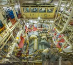 The engine room of the USNS Mercy