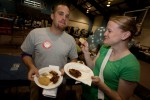 First-year students get a taste of local fare.