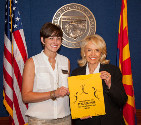 Lindsey and Gov. Brewer