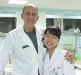 Dr. Davidson and Dr. Hu Xaoxi