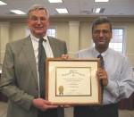 Robert Baer, Ph.D., (left) and Vineet Singh, Ph.D.