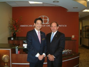 From left, Dr. Jae Park and Dr. Paul Castelein