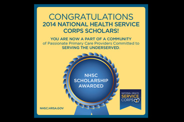 National Health Service Corps Scholars logo