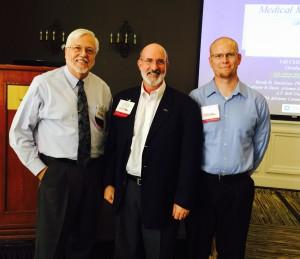 Dean Danielsen, Gerry Keenan, and Ian McLeod