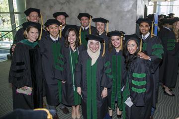 ATSU-SOMA graduates celebrate commencement on May 20, 2016