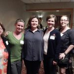 occupational therapy alumni at the reception