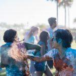 ATSU students celebrate Holi, the Hindu festival of colors
