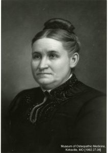 Mary Elvira Turner became known as the mother of osteopathic medicine. Museum of Osteopathic Medicine [1992.27.06]