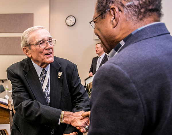 President Emeritus Fred C. Tinning, PhD,