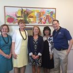 ATSU leaders visit Chaminade University of Honolulu