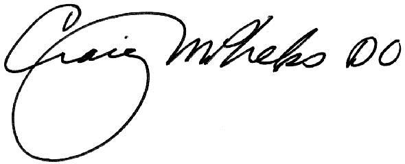 Craig M. Phelps, DO signature