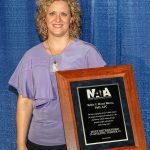 Dr. Huxel Bliven receives NATA's Most Distinguished Award