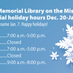 A.T. Still Memorial Library: Missouri holiday hours