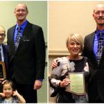 ATSU-ASHS faculty member, preceptor receive AzATA awards