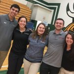 ATSU athletic training students at a physicals event