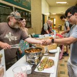 Students sample local cuisine at Mini Taste of Kirksville