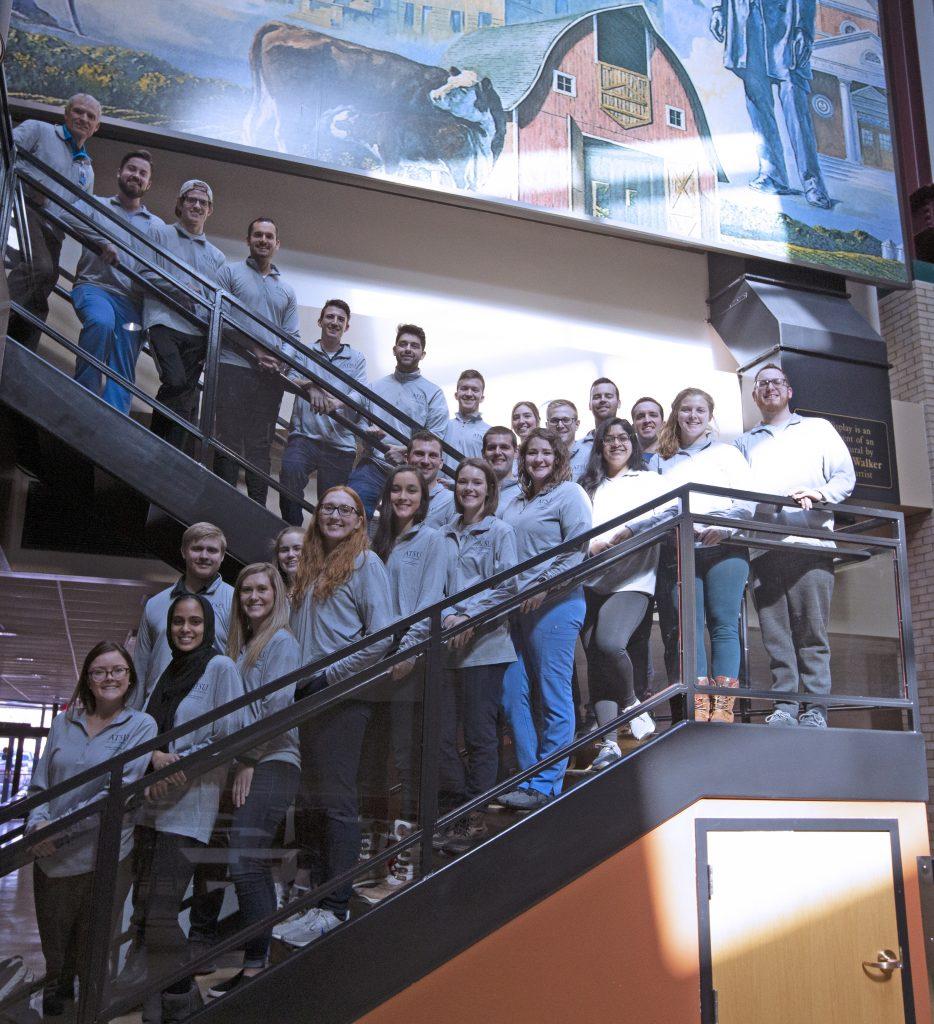 MO SGA members pose for a photo