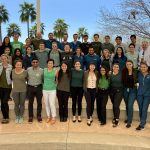 ATSU-SOMA students wear green to raise awareness