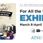 For All The People exhibit poster