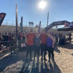 Athletic training students at a Spartan race