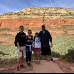 Athletic training students enjoying Arizona