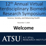 ATSRI hosts 12th annual Interdisciplinary Biomedical Research Symposium