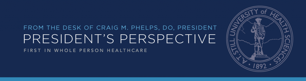 President's Perspective header graphic