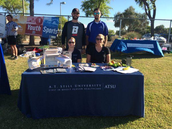 ATSU athletic training students